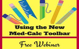 Med-Calc Toolbar Webinar